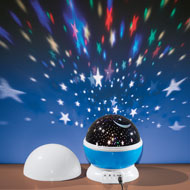 Night Light Rotating Star Projector with USB Port - 44297