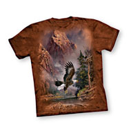 Soaring Bald Eagle T-Shirt - 44337