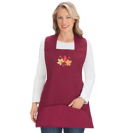 Seasonal Embroidered Cobbler Aprons - 44369