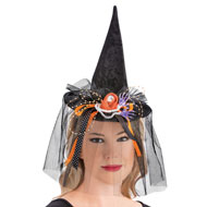 Witch Headband Hat And Glove Set, 3 Pc - 44389