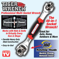 Tiger Wrench 48-in-1 Socket Wrench - 44498