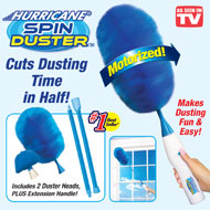 Hurricane Spin Duster Motorized Dusting Brush - 44500