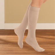 Stylish Compression Knee High Stockings, 3 Pairs - 44535