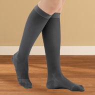 Knee High Compression Stockings, Moderate, Closed Toe - 44594