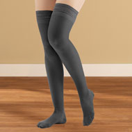Thigh High Compression Stockings, Firm, Closed Toe