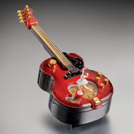 Guitar Music Box and Storage - 44619