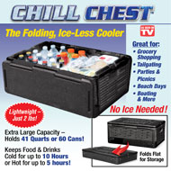 Chill Chest Collapsible Stackable Cooler - 44636