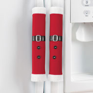 Santa Outfit Appliance Handle Covers - 44749
