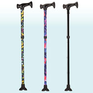 Lightweight Folding Collapsible Cane for Women - 44846