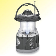 Multi-Function Radio and LED Lantern - 44978
