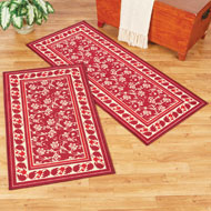 Floral Elegant Scroll Accent Rug - 45038