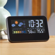 Color-Coded Weather Station Alarm Clock - 45120