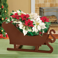 Decorative Holiday Sleigh - 45145