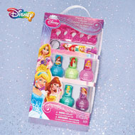Disney Princess Nail Polish Spa Set of 5 - 45158