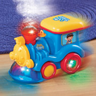 Bump and Go Musical Steaming Train with Lights - 45175