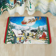 Santa's Village Bath Mat - 45215
