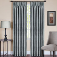 Parker Pinch Pleat Window Curtain Panel - 45240