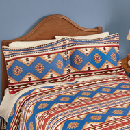 Southwest Aztec Fleece Pillow Sham - 45265