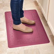 Anti Fatigue Mat with Scroll Border - 45373