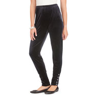 Velvet Cinch Ankle Legging - 45379