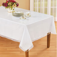 Clear Rectangular Table Cover