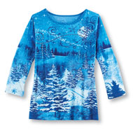Winter Wonderland Sequin Top - 45459