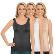 Seamless Stretchy Tank Tops Under Shirt Set of 3 - 45472