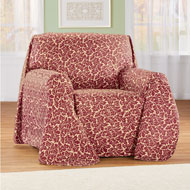 Floral Scroll Pattern Furniture Cover Protector - 45480