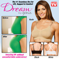 Seamless Dream Bra by Genie with Lifting Support - 45498