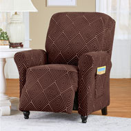 Form Fit Diamond Slipcover with Raised Design - 45543