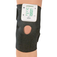 Tens Unit Nerve Stimulation and Heated Knee Wrap - 45603