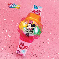 Disney Colorful Lighted Digital Minnie Watch - 45617