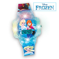 Disney Frozen Light Up Girls Watch, Anna and Elsa - 45621