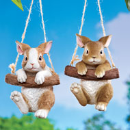 Hang Around Bunny Tree Decoration - 45691