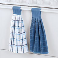 Handle Hanging Latch Towels - Set of 2 - 45765