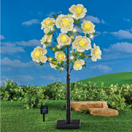Solar Powered Rose Tree with Adjustable Branches