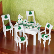 St. Patrick's Miniature Dining Room - Set of 20 - 45895