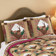 Woodland Lodge Patchwork Plaid Pillow Sham - 45901