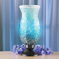 Mosaic Glass Table Top Accent Lamp - 45922