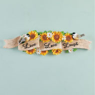 Sunflower Live Love Laugh Wall Decor - 45957