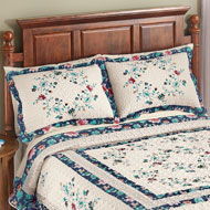 Felicity Floral Diamond Microfiber Pillow Sham - 46232