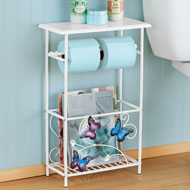 Butterfly Toilet Paper Magazine Holder - 46250