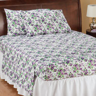 Bed Tite Floral Microfiber Sheet Set - 46313
