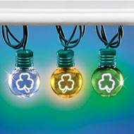 Shamrock Globe LED String Lights - 46350