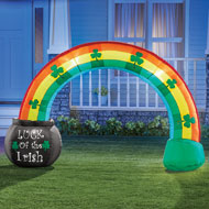 Inflatable St. Patrick's Rainbow Yard Decoration - 46351