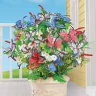 Patriotic Blossoms and Butterfly Bushes - Set of 3 - 46375
