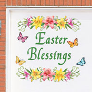 Easter Blessings Magnetic Garage Door Decoration - 46395