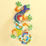 Colorful Lizard Wall Decor - 46445