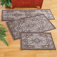 Classic Medallion Design Accent Rug
