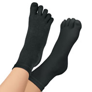 Comfortable Cotton Toe Socks - 46511